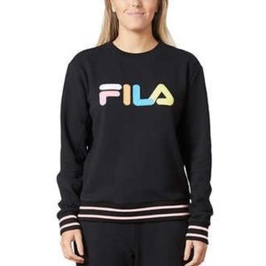 NEW! Fila Pastel block font French Terry